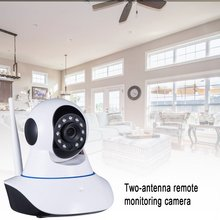 720P IP Camera Wireless WIFI Home Security monitor P2P  Video Surveillance Camera home Security Dual-Gain Antenne Cloud Tf Card escam patron qf500 ip camera hd 720p 1mp p2p wifi security alarm camera system baby monitor support 32g tf card