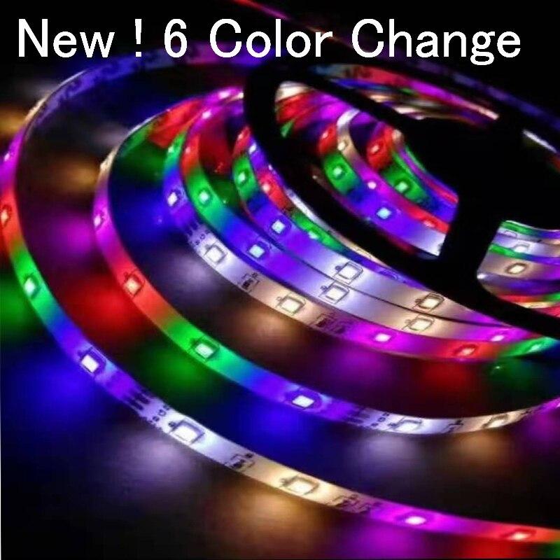 Led Strip Waterproof 12v 1m 2m 3m 4m 5m 2835smd RGB Led Strip Light Neon Light Ribbon Flexible