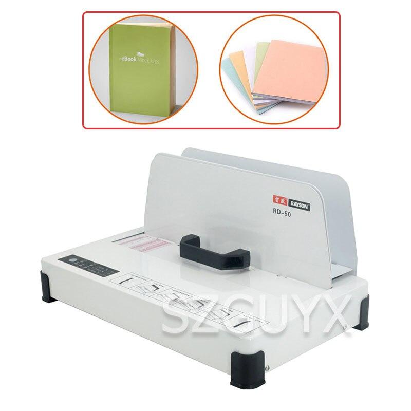 Hot Melt Binding Machine  Wireless Tender  Proof Of Financial  A4 Book Cover  Automatic Binding Machine