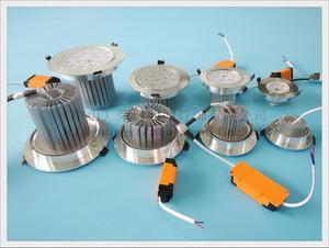 Image 2 - LED תקרת אור אלומיניום מקורה ספוט אור זרקור שקוע LED למטה אור 3W 5W 7W 9W 12W 15W 18W 21W 24W תקרת אור