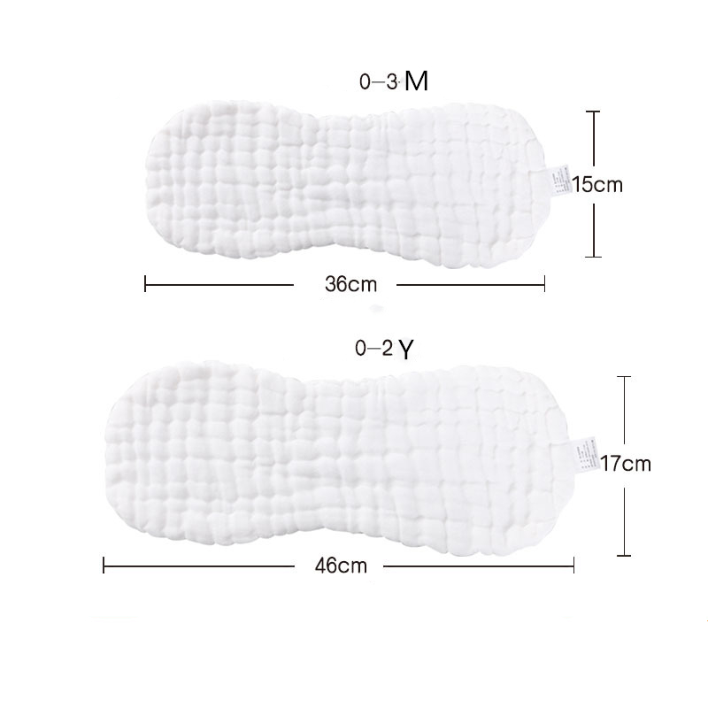 12 layers 2Pcs  Baby newborn diapers cotton gauze diaper Baby washable breathable peanuts cloth inserts cover | Happy Baby Mama