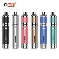 Yocan Evolve Plus-Kit de vaporizador con batería de 1400mah, pluma de cera de hierba seca, vaporizador de cigarrillo electrónico, bobina de varilla de cuarzo