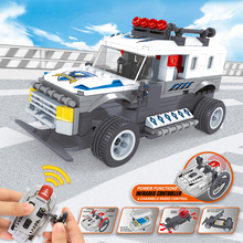 188-326 pcs Technic RC Car Building Blocks Bricks All Terrain Off-Road Climbing Truck Racing Car Train Toys For Kids Child Gifts