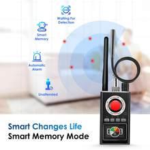 K88 Wireless RF Signal Detector Bug GSM GPS Tracker Mini Camera Finder Camera scansione a infrarossi AI Standby rilevamento automatico