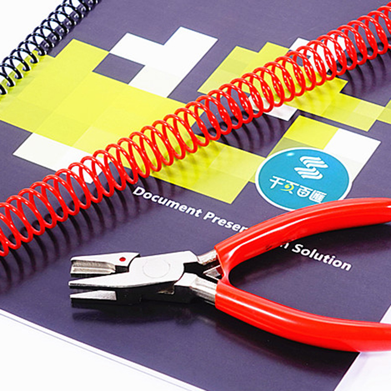 1pc New Spiral / Single Coil Binding Machine Closing Pliers  Student Stationery Single Coil Ending Pliers