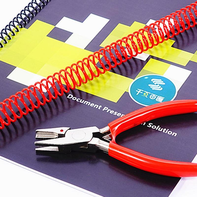1 шт., плоскогубцы для закрывания спиральных/одинарных катушек