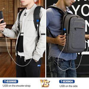 Image 5 - Tigernu Women Fashion 15.6inch USB Recharging Men Backpacks Anti theft Girl Female Laotop Backpacks For Women 2020 For Teenager