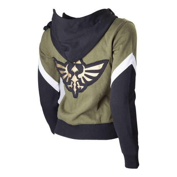Zelda Legend 2019 Autumn And Winter Warm Wish Hot Selling Anime Hooded Applique Hoodie Cosplay Clothing