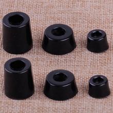 8 шт. черный динамик шкаф мебель стул стол коробка коническая резиновая подставка для ног амортизатор S/M/L сопротивление скольжению