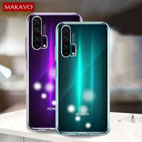 For Huawei Honor 20 Pro Case Slim Transparent Silicone Soft Clear TPU Back Cover Case for Huawei Honor 20 20S View 20 Lite