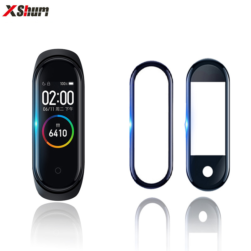 3D Mi Band 4 Film For Protector Soft Fiberglass For Xiaomi Miband 4 Film Cover Screen Protection Protective Smart Accessories