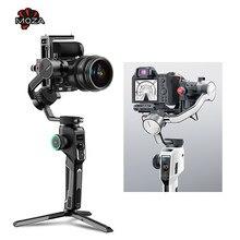 Moza – AirCross 2 stabilisateur de caméra à cardan 3 axes portatif, 3.2kg, appareil photo DSLR sans miroir, pour Canon Sony Nikon Fuji
