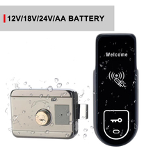 Door-Lock IP65 Working Automatic Weatherproof for 6V Key-Card Long-Battery-Life