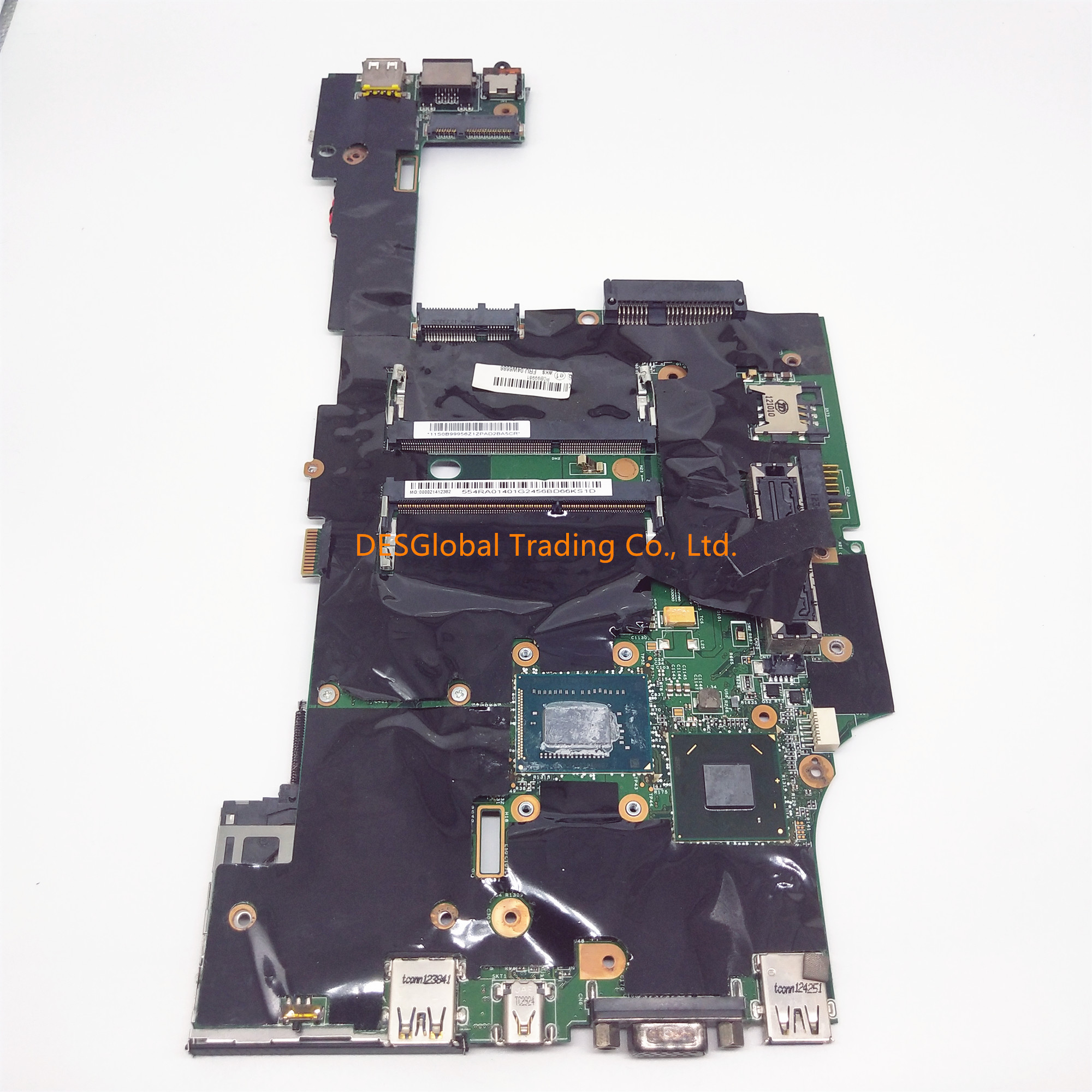 For LENOVO Thinkpad X230 04W6686 SR0MY <font><b>i5</b></font>-<font><b>3320M</b></font> DDR3 Laptop Motherboard 554RA01401 11S0899956 Mainboard Fully Tested image