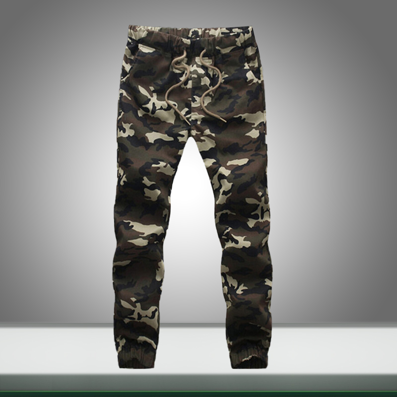 Men Casual Camouflage Sweatpants 2019 Autumn Male Military Pencil Cargo Pants New Mens Streetwear Hip Hop Jogger Trousers