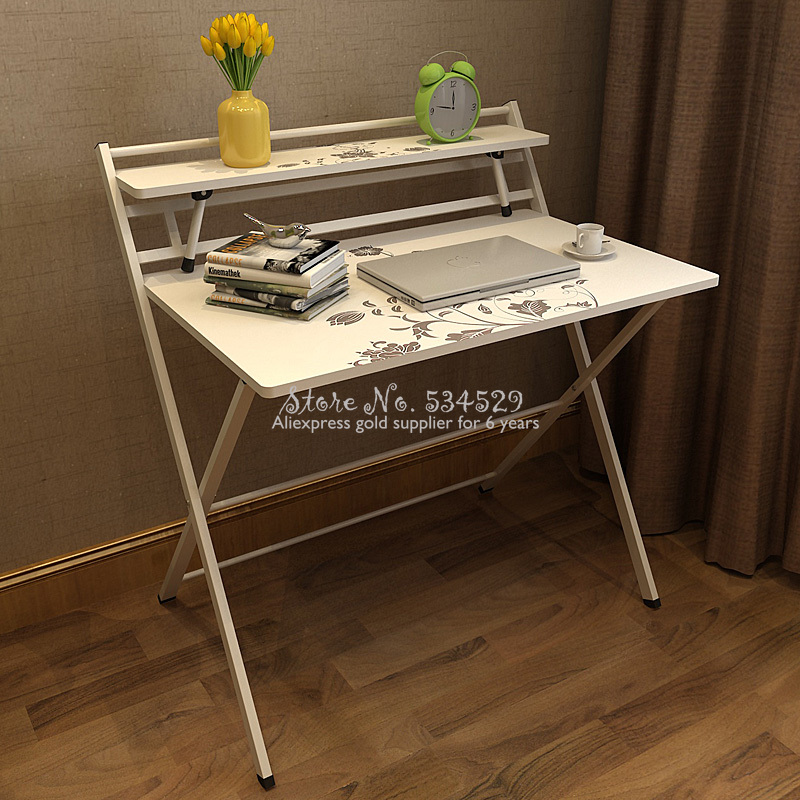 25%H LM1525 Installation Folding Table Household Type Computer Notebook Simple Desk Multifunciton