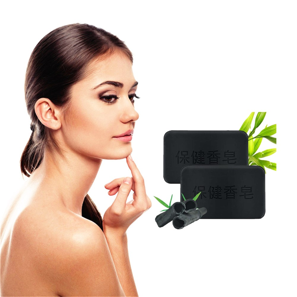 Glycerin Whitening Soap To Make The Skin Bright And White Deep Bamboo Charcoal To Reduce Melanin Mite Growth Inhibition Soap