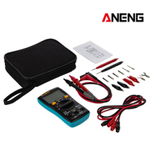 ANENG M10 AN8001 Portable LCD Digital Multimeter 6000 Counts Backlight AC/DC Ammeter Voltmeter Ohm Meter Teste an8001 portable digital multimeter 6000counts backlight ac dc ammeter professional multifunction digital multimeter