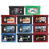 32 jogo de vídeo do bocado cartucho console cartão castlevania série eua/ue versão para nintendo gba