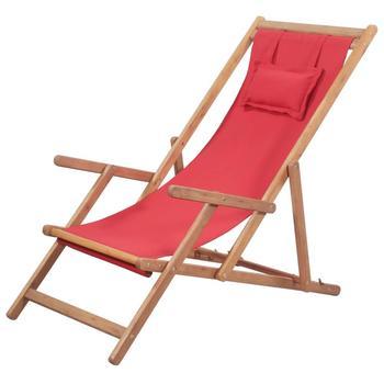 Nowoczesne składane krzesła plażowe eukaliptusowe drewniane krzesła leżak ogrodowa i Patio krzesła na balkon kemping tanie i dobre opinie vidaXL ES (pochodzenie) Drewna Eucalyptus wood Szezlong 60x 112 x 95cm (Wx Dx H) Plaża krzesło 43995 43996 43997 Meble ogrodowe