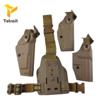 Military  Safariland Gear Beretta M9 /USP/glock17 19 Airsoft Tactical Thigh Holster Gun Accessories Hunting Compact Po