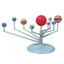Nine Planets in Solar System Planetarium Painting Arts and Science Teaching Childrens Educational Diy Toys For Children