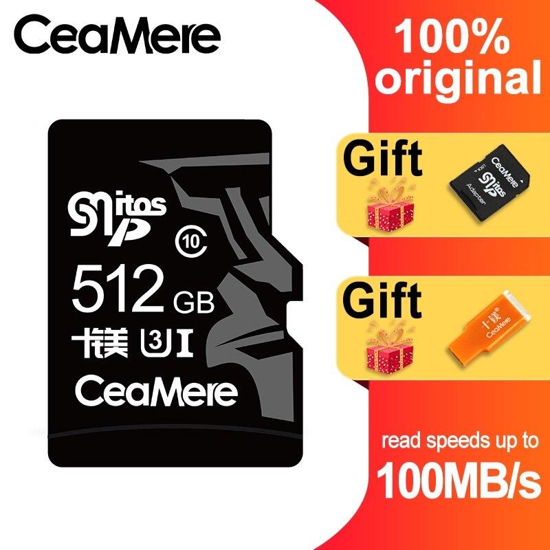 Image 4 - CeaMere 256 ГБ 128 Гб 64 Гб карта памяти U3 UHS 3 32 ГБ Micro sd карта класс 10 UHS 1 флэш карты памяти Microsd TF/sd карта s для планшета-in Карты памяти from Компьютер и офис