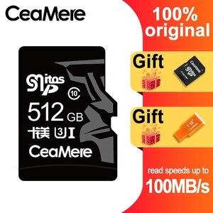 Image 4 - CeaMere 256GB 128GB 64GB Scheda di Memoria U3 UHS 3 32GB Micro carta di deviazione standard di Class10 UHS 1 flash card di memoria Microsd TF/SD CARD per Tablet