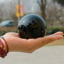 Cristal natural curar bola de cristal obsidiana para fengshui esfera bola, meditação, cura de cristal