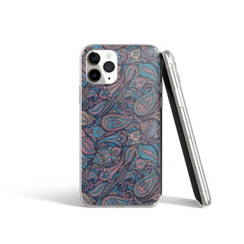 Coque iPhone dessin floral