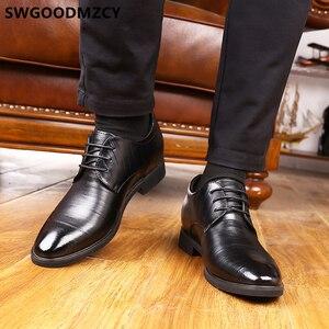 Image 4 - Elevator Shoes For Men Wedding Shoes Men Italian Shoes Men Fashion Zapato Formal Hombre Sapato Social Masculino Scarpe Uomo