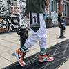 Streetwear Hip hop Joggers Pants Men Loose Harem Pants Ankle Length Trousers Sport Casual Sweatpants White Techwear 11
