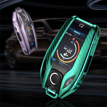 For BMW 7 Series 740 6 Series GT 5 Series 530i X3 Display Key Anti-scratch TPU Remote Car Fully Key Case Cover Shell Protector rock vision series case for iphone 7 4 7 carbon fiber texture tpu pc mobile shell gold