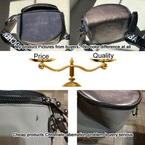 Image 5 - Сумка кросс боди для женщин, сумки мессенджеры из искусственной кожи, сумка на плечо, модное седло знаменитого бренда для леди, 2020