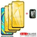 Note10 Gehärtetem Glas + Kamera Schutz für Redmi Note 10 Pro Note9S Screen Protector Redmi Note9 8T 10 Pro Redmi Note 9 Pro 10S Glas Xiaomi Note 9 10Pro