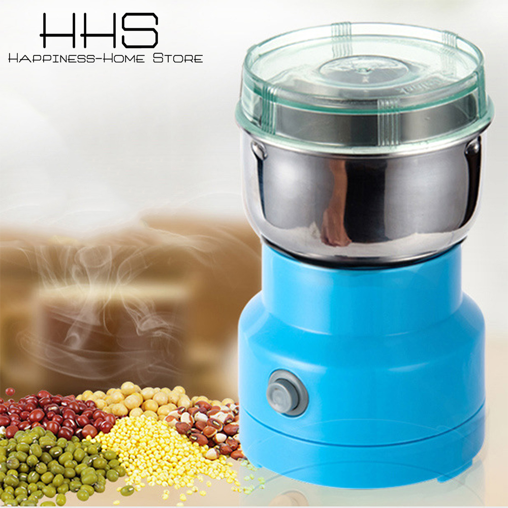 Portable Home Multifunction Electric Smash Machine Coffee Pepper Spice Mill Pepper Grinder Electric Mill Machine Kitchen Tools