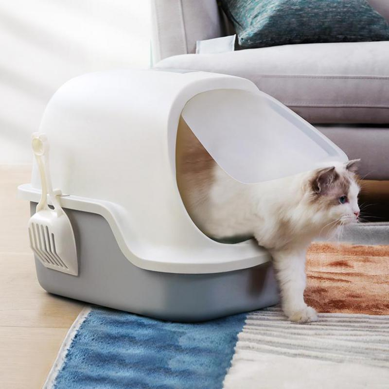 Great cat litter box fully enclosed cat washcloth type aleta odor tests and spatter tests cats maca Basin products for pets(China)