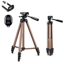 Tripod With Remote Control Profesional Camera Tripod Stand For DSLR Camera Camcorder Mini Protable Tripod For Phone Cameran