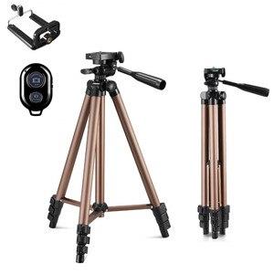 Image 1 - Tripod With Remote Control Profesional Camera Tripod Stand For DSLR Camera Camcorder Mini Protable Tripod For Phone Cameran