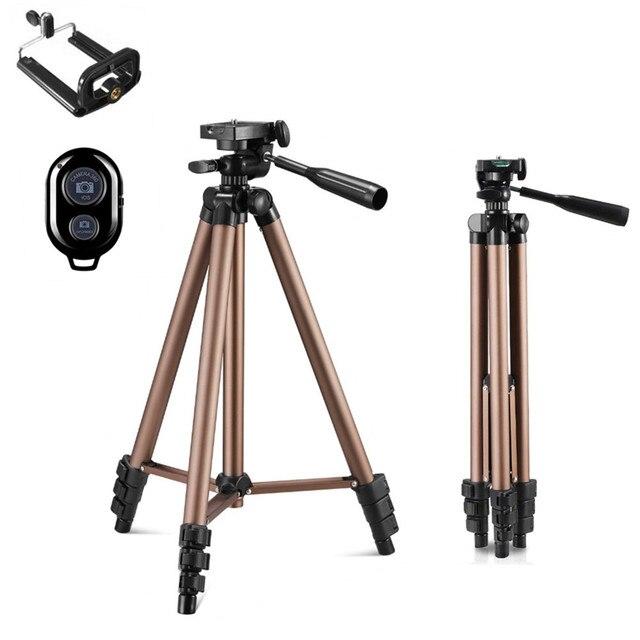 Tripod With Remote Control Profesional Camera Tripod Stand For DSLR Camera Camcorder Mini Protable Tripod For Phone Cameran