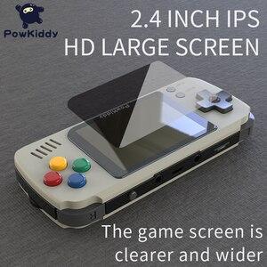 Image 3 - Powkiddy Q70 açık sistem Video oyunu konsolu Retro el, 2.4 inç ekran taşınabilir çocuk oyun oyuncuları 16GB hafıza kartı