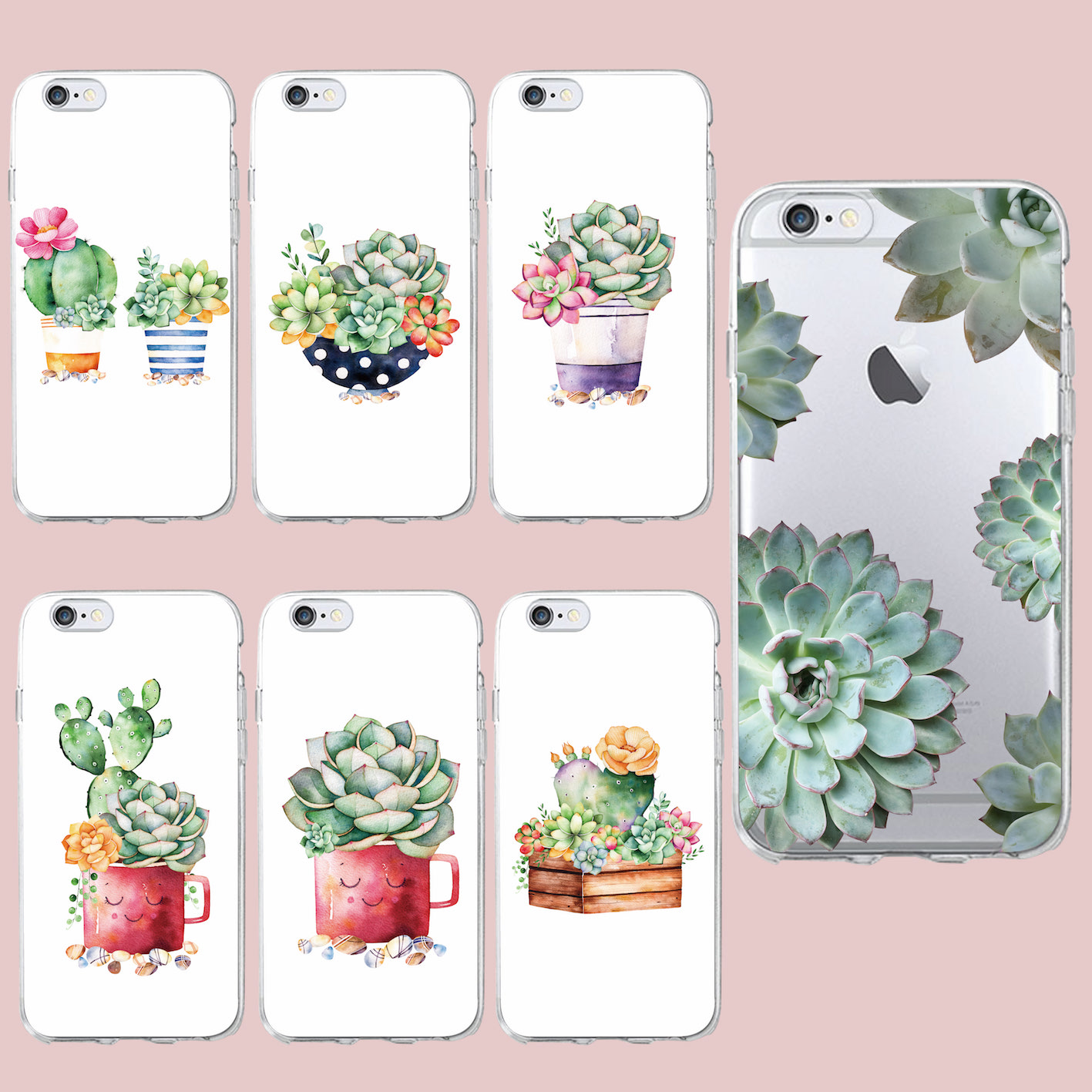 fundas iphone 5 cactus
