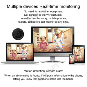 Image 4 - Mini wifi camera IP hd secret cam micro small 1080p wireless videcam home outdoor XIXI SPY