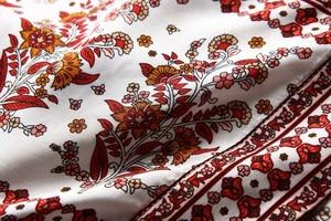 Image 4 - Vintage chic Donne Stampa Floreale rosso Fiocchi E Fasce della boemia Kimono Donna Con Scollo A V dei Manicotti del batwing Boho Maxi dress robe