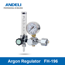 ANDELI Welding Gas Meter FH-196 Argon Pressure Flow Regulator for TIG Welding machine Argon pressure reducer tanie tanio