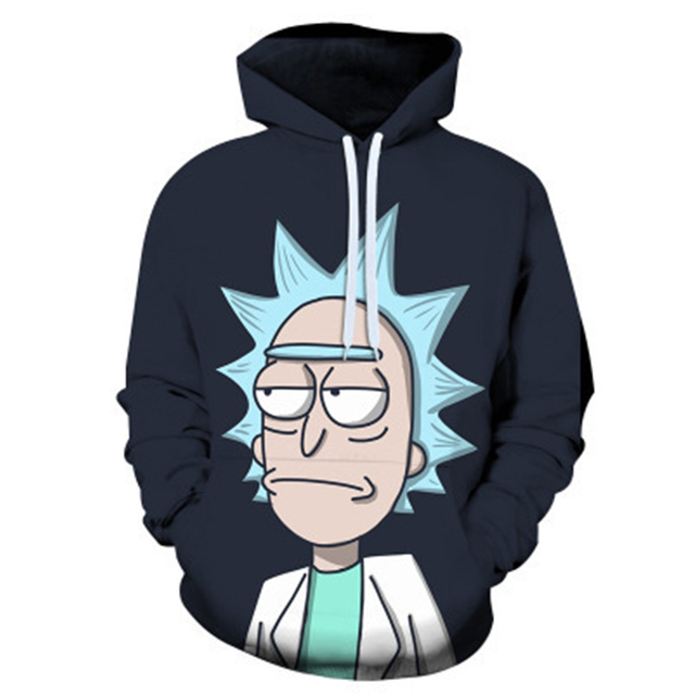 Rick And Morty Hoodie Sweatshirts 6