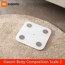 Xiaomi Mi Body Composition Scale 2 Smart Bathroom Weight Weighing Scales LED Display Mi Fit APP Bluetooth 5.0 Digital Balance