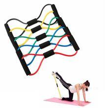 Fitness-Equipment Elastic-Tube Resistance-Training-Bands Sport-Strength Body-Building
