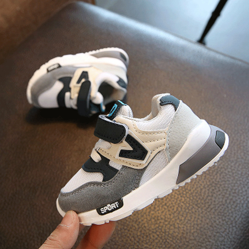 Children Sport Shoes Autumn Winter 2019 Fashion Breathable Kids Boys Shoe Girls Anti-Slippery Sneakers Baby Toddler Casual Shoes