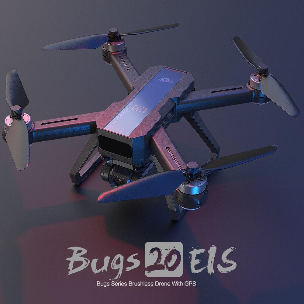MJX B20 RC Drone 4K GPS with HD Camera EIS Brushless Motor Profesional Drones Dron Quadcopter Gimbal 500M Wifi FPV 22 Mins Gitfs